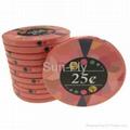 Mosaic Ceramic Poker Chips 2