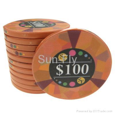 Mosaic Ceramic Poker Chips 3