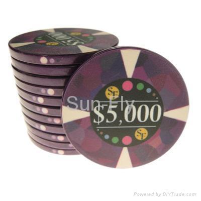 Mosaic Ceramic Poker Chips 4