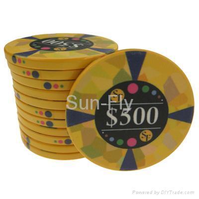 Mosaic Ceramic Poker Chips 5