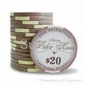 Valentino Ceramic Poker Chips