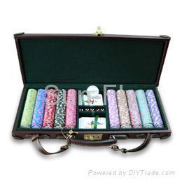 Poker chips of 500pcs set 1