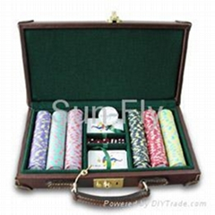 Poker chips of 300pcs set