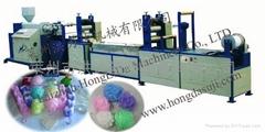供應沐浴球網生產線
