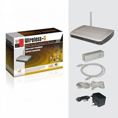 Wireless 802.11G Router + ADSL + 4Port