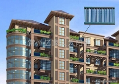 亿家人阳台壁挂太阳能