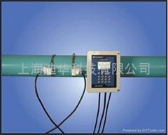 管外夹装型高精度时差式超声波流量计