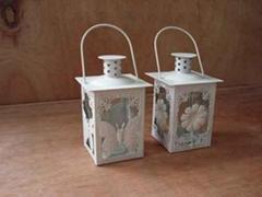 Metal Lantern, Decorative Lantern, Wind Lantern