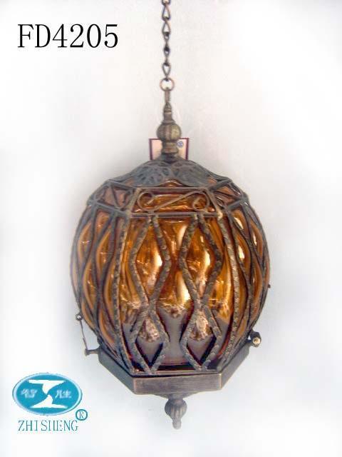 Metal Amp Glass Craft Garden Decor Lamp Fd4205 Zhisheng China Metal Crafts Crafts