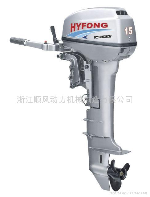 2 Stroke 15hpoutboard Engine Sf T15bml Hyfong China