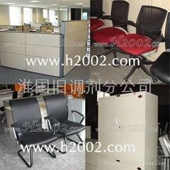 上海专业二手办公家具市场 上海二手家具店 美时办公桌 震旦办