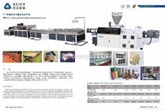 PVC profile production line