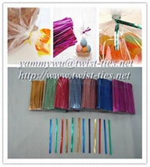 paper/plastic twist ties for dry cleaning