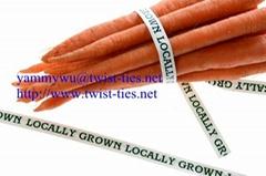 paper twist ties for food packaging