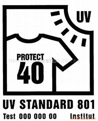 UV Standard 801纺织品防紫外认证
