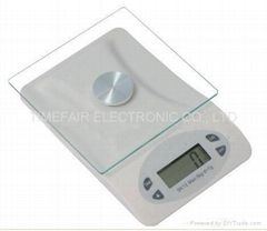 Kitchen Scale, with time setting function