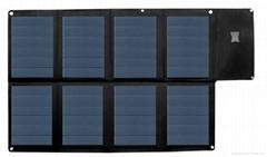 Flexible solar panel