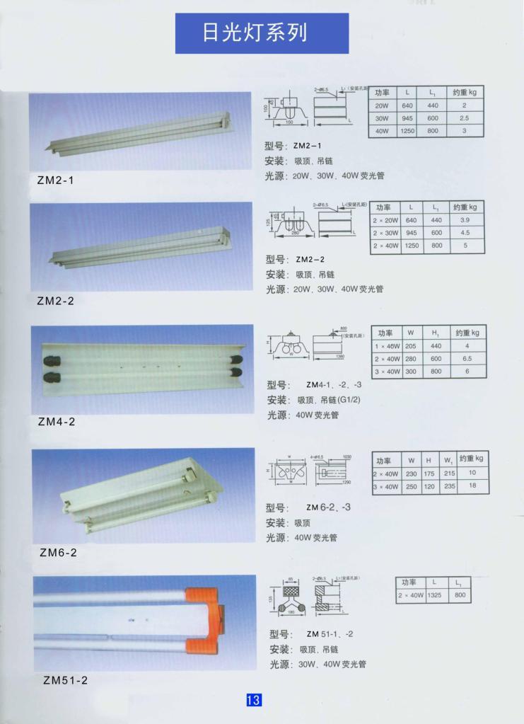 日光燈 1
