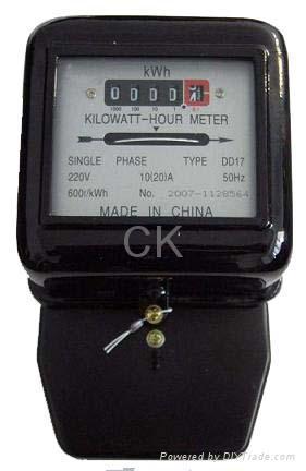 Single Phase Kwh Meter Power Meter Energy Meter Watt Hour