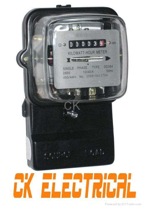 Kilowatt Hour Meter : Single phase power meter energy kwh watt hour