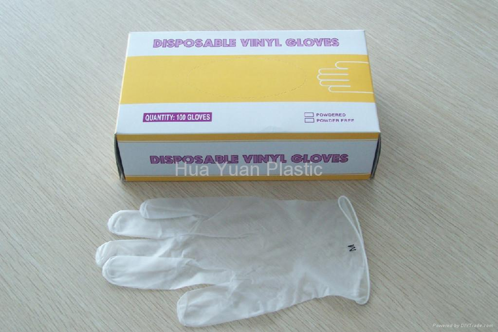 Vinyl gloves xs s m l xl xxl prime protection china for Diy plastic gloves