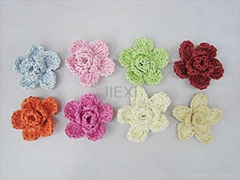 Apparel Crochet Flower (LY-0010)