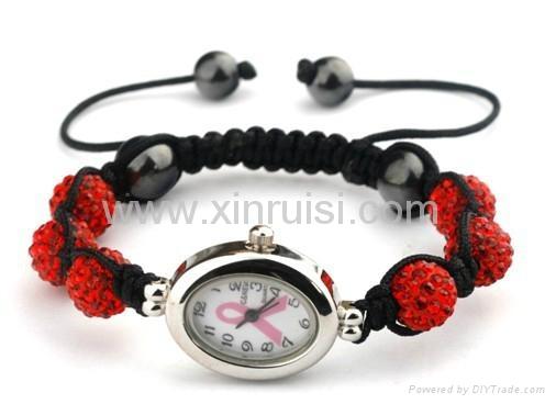 Produce shamballa bracelet watches 1