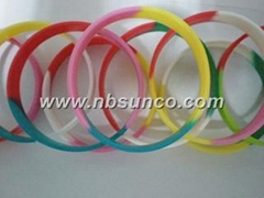Colorful Silicone Wrist Band(SCPHW002)
