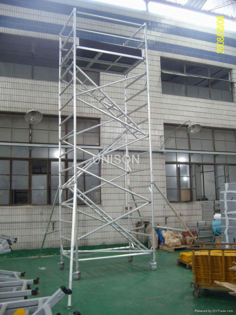 Scaffolding Set Up : The hills are burning december
