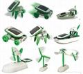 太陽能玩具六合一