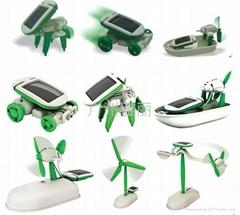 太阳能玩具六合一