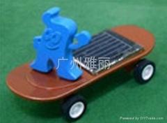 太阳能滑板车