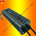 100W waterproof LED power supply