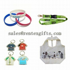 lanyards,nonwoven bags,silicone bracelets,keychains.wristbands