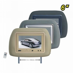 6inch headrest monitor pillow with IR(lindaj Industry)