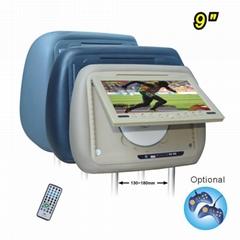 9inch car headrest dvd player with USB/SD(lindaj Industry)