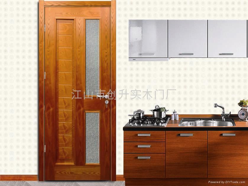 Solid Wooden Door Sc 1 002 Chuangsheng China