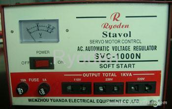 SVC Series High Accuracy Full-auto AC Voltage Regulator( Voltage Stabilizer) 1