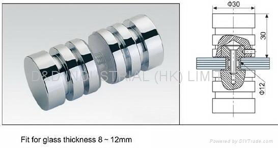glass shower door hardware. Glass door knob