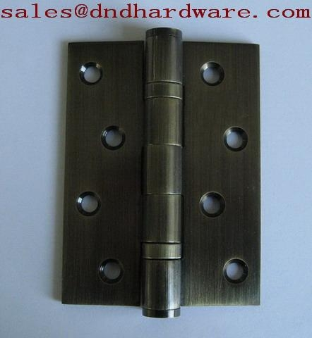 Door hinge with Antique cooper finish 1