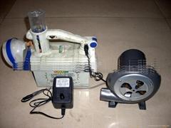 AC-DC dual-use straw gasifier Blower exhaust fan