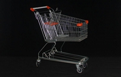 German style shopping trolley