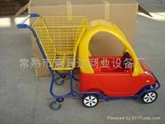 超市童趣手推車