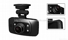 Full HD 1080p car camera with Ambarella chipset and GPS and 170 degree angel