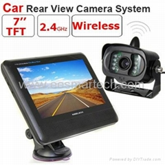 wirelss car rear camera