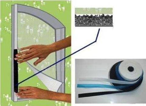 back adhesive  velcro 2