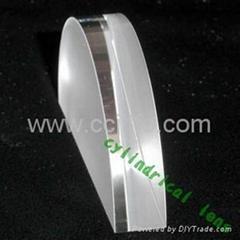 flat cylinder lens
