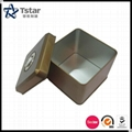 Square Shape Tin Box