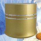 cosmetic aluminum jar