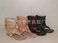 新款時尚涼鞋,批發涼鞋,羅馬涼鞋,外銷涼鞋,惠東涼鞋